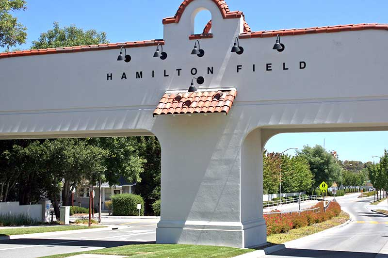 The Main Gate to the Hamilton neighborhoods