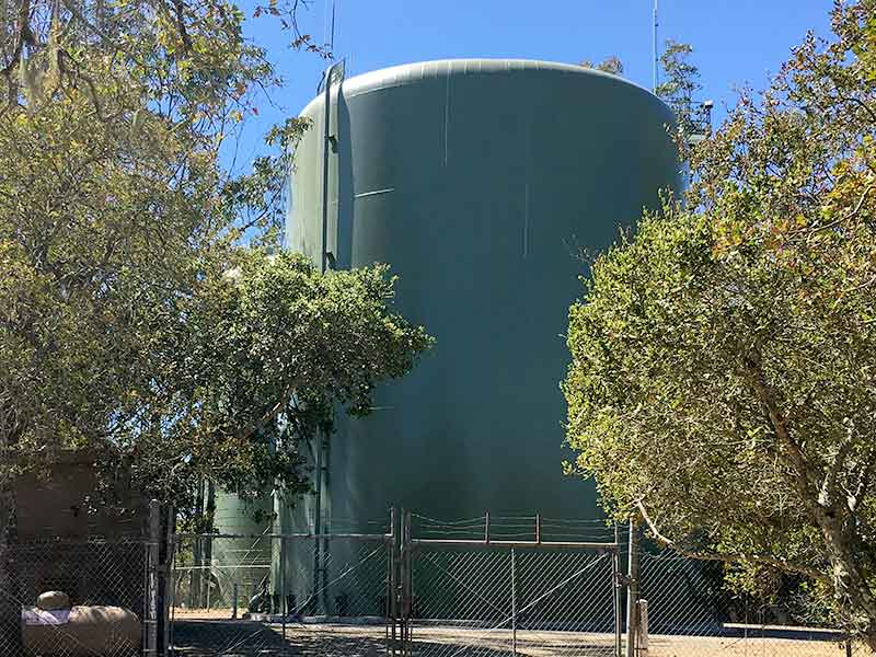 NMWD rebuild water storage tanks