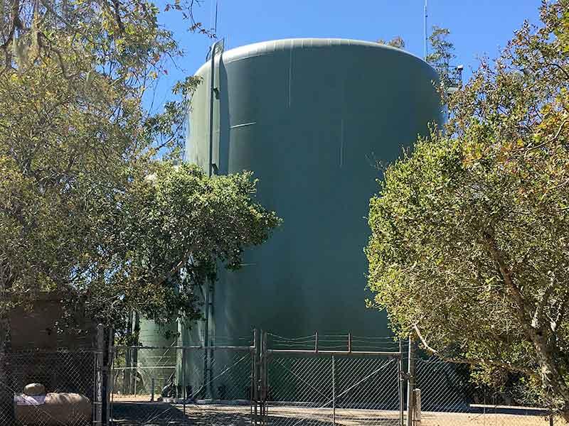 NMWD rebuild water storage tanks