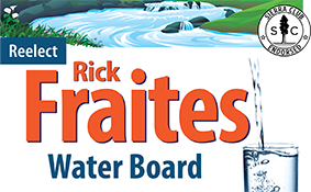Rick Fraites for North Marin Water Board 2018